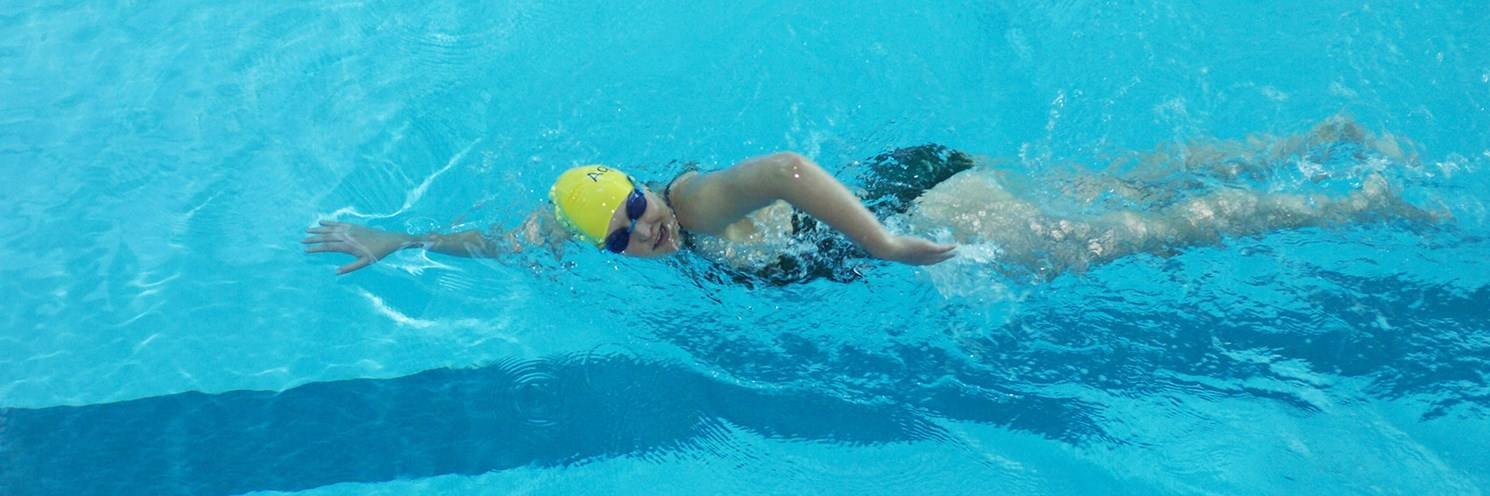 Aquatic Centre - Female Lap Swimming - Photography by Ashley Mackevicius