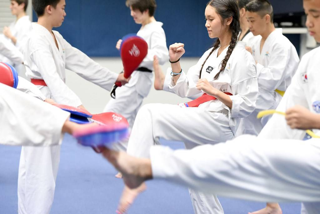 Aquatic Centre - Taekwondo Group - Photography by Delly Carr
