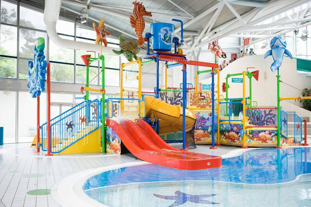 Splasher 39 s water playground sydney olympic park aquatic - London swimming pools with slides ...