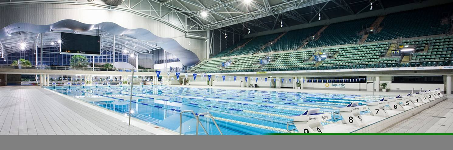 Aquatic Centre - Competition Pool - View From Utility - Photography by Hamilton Lund