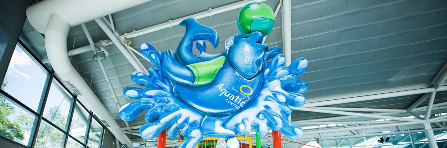 Sydney Olympic Park Aquatic Centre - Splashers Waterpark Seal - Photography by Hamilton Lund