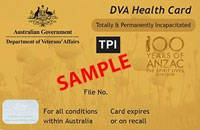DVA Health Card TPI