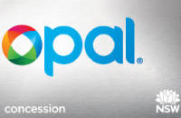 Opal Concession Card