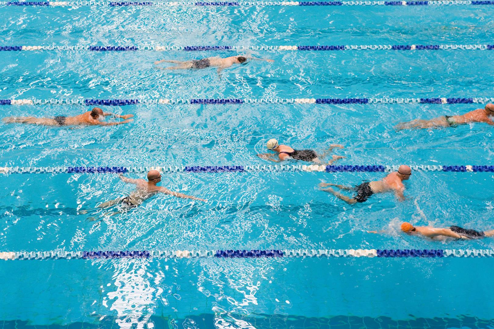 Lap Swimming At The Aquatic Centre Sydney Olympic Park