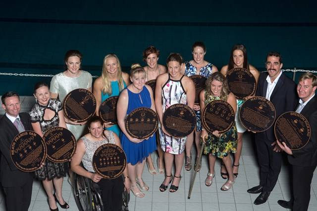 Aquatic Centre - Path of Champions Inductees - Photography by Rick Stevens