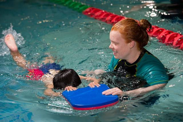 Aquatic Centre - Swim School - Learn to Swim - Photography by Paul K Robbins