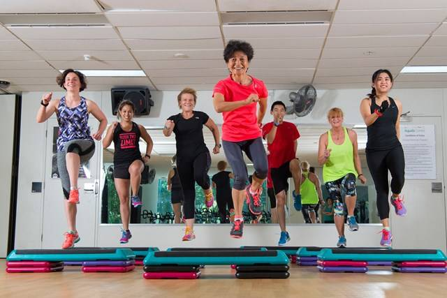 Group Fitness Classes - Pauk K Robbins