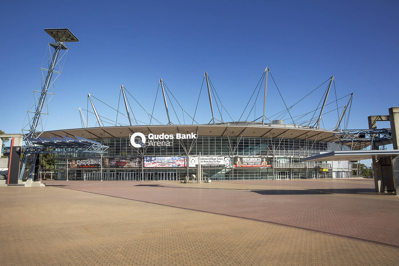 Sydney Olympic Park - Qudos Bank Arena - Photography by Paolo Busato